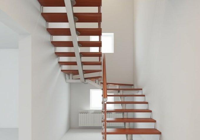Лестницы на монокосоуре в Москве