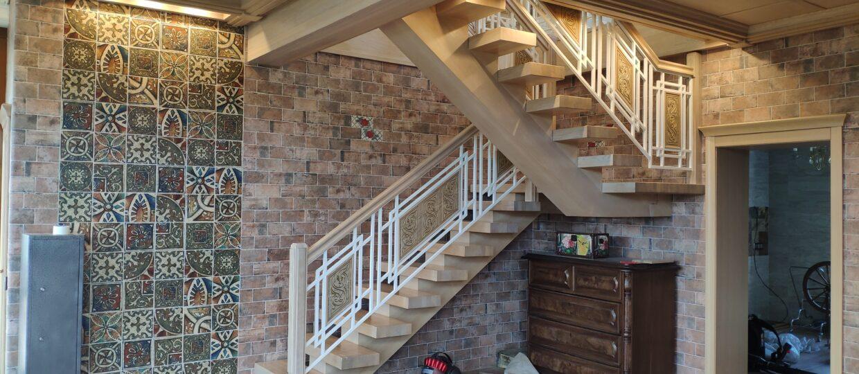 Лестница на заказ в г. Клину